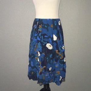 Marimekko Floral printed midi skirts pockets 40